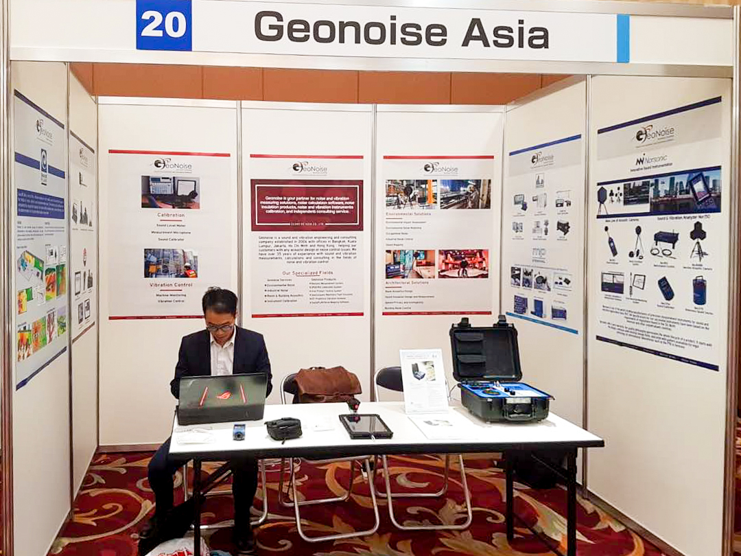 Geonoise Asia @ International Congress on Sound and Vibration (ICSV) 25 Hiroshima, Japan